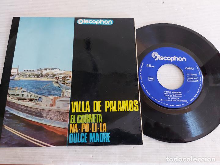VICTOR BALAGUER / VILLA DE PALAMÓS + 3 / EP - DISCOPHON-1965 / MBC. ***/*** (Música - Discos de Vinilo - EPs - Solistas Españoles de los 50 y 60)