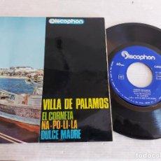 Discos de vinilo: VICTOR BALAGUER / VILLA DE PALAMÓS + 3 / EP - DISCOPHON-1965 / MBC. ***/***. Lote 274385493
