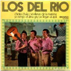 Discos de vinilo: LOS DEL RRO - CHINITA CHULA - EP SPAIN 1971 - DISCOPHON 27.574. Lote 274398943