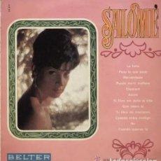 Discos de vinilo: SALOMÉ * LP VINILO 1968 BELTER * PUEDO MORIR. Lote 274405908