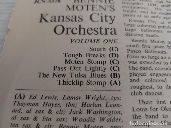 Discos de vinilo: BENNIE MOTEN AND HIS KANSAS CITY ORCHESTRA / VOLUME ONE / EP-SWAGGIE-33 R.P.M. / MBC. ***/***RARO - Foto 3 - 274411193