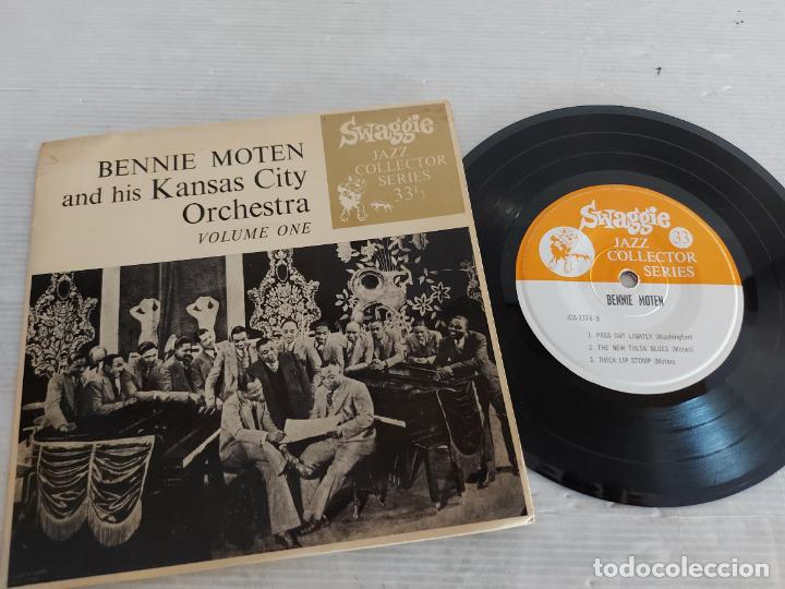 BENNIE MOTEN AND HIS KANSAS CITY ORCHESTRA / VOLUME ONE / EP-SWAGGIE-33 R.P.M. / MBC. ***/***RARO (Música - Discos de Vinilo - EPs - Jazz, Jazz-Rock, Blues y R&B)