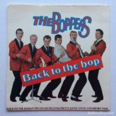 Discos de vinilo: THE BOPPERS – BACK TO THE HOP SWEDEN,1979 SOUND OF SCANDINAVIA. Lote 274412138