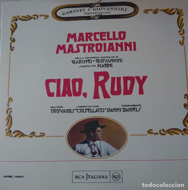 MARCELLO MASTROIANI LP PORTADA DOBLE SELLO RCA ITALIANA EDITADO EN ITALIA DEL ........ (Música - Discos - LP Vinilo - Bandas Sonoras y Música de Actores )
