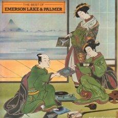 "Disques de vinyle: THE BEST OF ""EMERSON LAKE & PALMER"" - LP ARIOLA DE 1981 / BUEN ESTADO RF-9850. Lote 274432913"