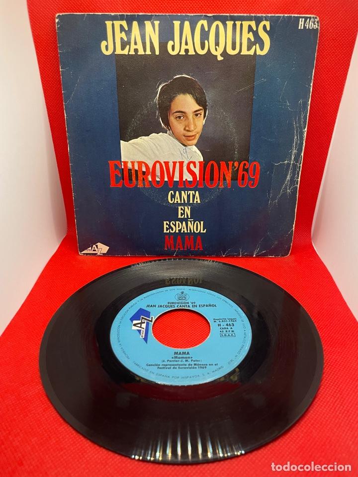 JEAN JACQUES CANTA EN ESPAÑOL - MAMA Y LOS DOMINGOS FELICES - EUROVISIÓN 1969 (Música - Discos - Singles Vinilo - Festival de Eurovisión)