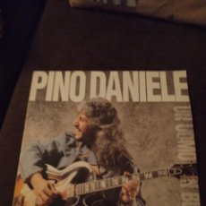 Disques de vinyle: LP DE PINO DANIEL. UN UOMO IN BLUES. EDICIÓN DE 1991. CON ENCARTE. CAR. Lote 274434878