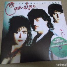 Disques de vinyle: CAMELA (SINGLE) LAGRIMAS DE AMOR AÑO 1994 - PROMOCIONAL. Lote 274438403