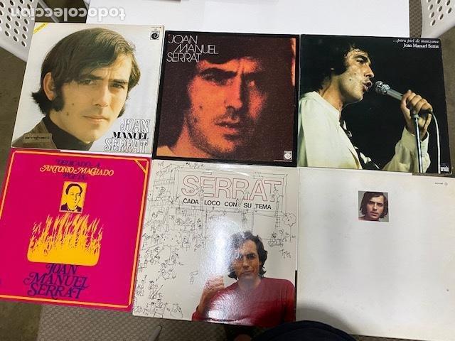6 VINILOS 1969-1975-1983-1993 JOAN MANUEL SERRAT EN PERFECTO ESTADO, VER FOTOS.4, 31 ENVÍO CERTIF. (Música - Discos - LP Vinilo - Solistas Españoles de los 70 a la actualidad)