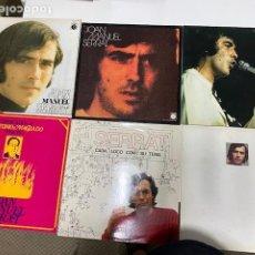 Discos de vinilo: 6 VINILOS 1969-1975-1983-1993 JOAN MANUEL SERRAT EN PERFECTO ESTADO, VER FOTOS.4, 31 ENVÍO CERTIF.. Lote 274443128