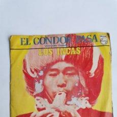 Discos de vinilo: LOS INCAS EL CONDOR PASA RISAS DE BOLIVIA. Lote 274526818