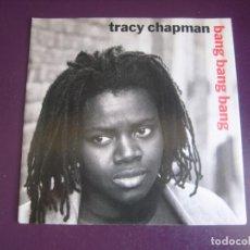 Discos de vinilo: TRACY CHAPMAN – BANG BANG BANG - SG ELEKTRA 1992 - FOLK ROCK - SIN USO. Lote 274531168