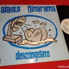 Discos de vinilo: ALASKA & DINARAMA DESCONGELATE +2 12'' MX 1989 HISPAVOX MOVIDA POP FANGORIA. Lote 274535498