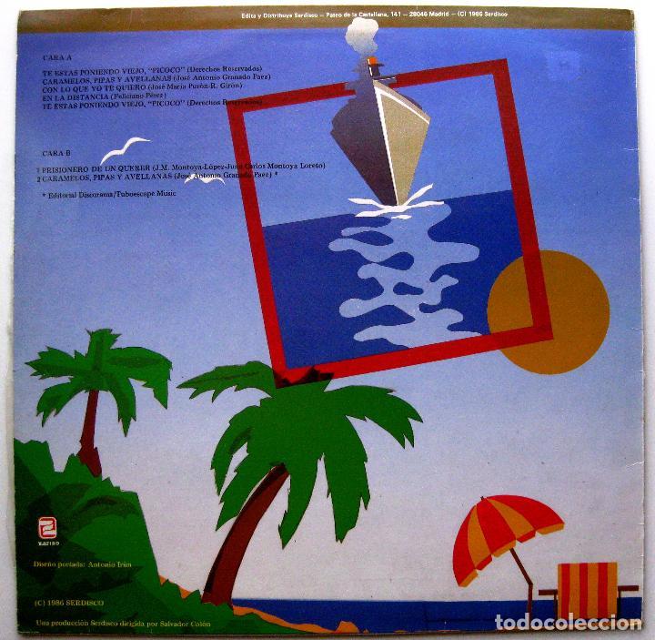 Discos de vinilo: Los Del Rio - Te Estas Poniendo Viejo Picoco - Maxi Zafiro 1986 BPY - Foto 2 - 274539568