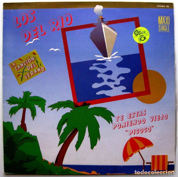 LOS DEL RIO - TE ESTAS PONIENDO VIEJO 'PICOCO' - MAXI ZAFIRO 1986 BPY (Música - Discos de Vinilo - Maxi Singles - Flamenco, Canción española y Cuplé)
