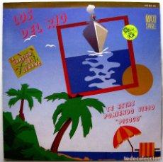 Discos de vinilo: LOS DEL RIO - TE ESTAS PONIENDO VIEJO 'PICOCO' - MAXI ZAFIRO 1986 BPY. Lote 274539568
