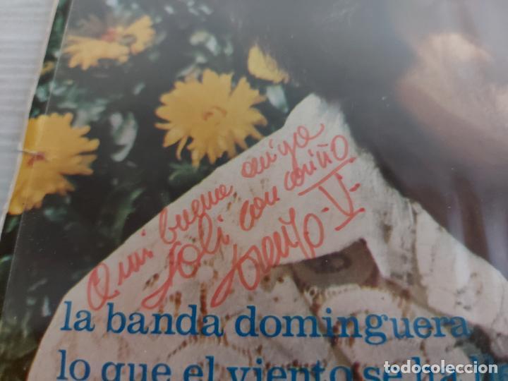 Discos de vinilo: FIRMADO !! LORENZO V. / LA BANDA DOMINGUERA / SINGLE - PALOBAL-1971 / MBC. ***/*** - Foto 3 - 274542603