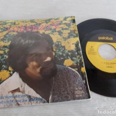 Discos de vinilo: FIRMADO !! LORENZO V. / LA BANDA DOMINGUERA / SINGLE - PALOBAL-1971 / MBC. ***/***. Lote 274542603