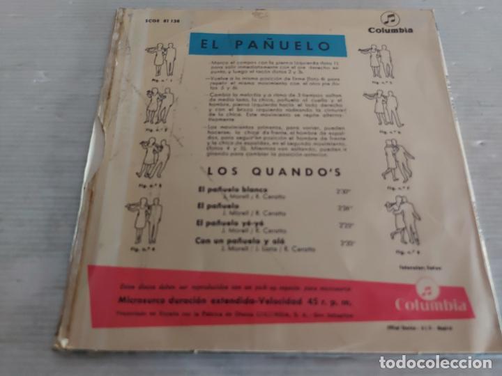 Discos de vinilo: LOS QUANDOS / EL PAÑUELO / EP - COLUMBIA-1966 / MBC. ***/*** - Foto 2 - 274543638
