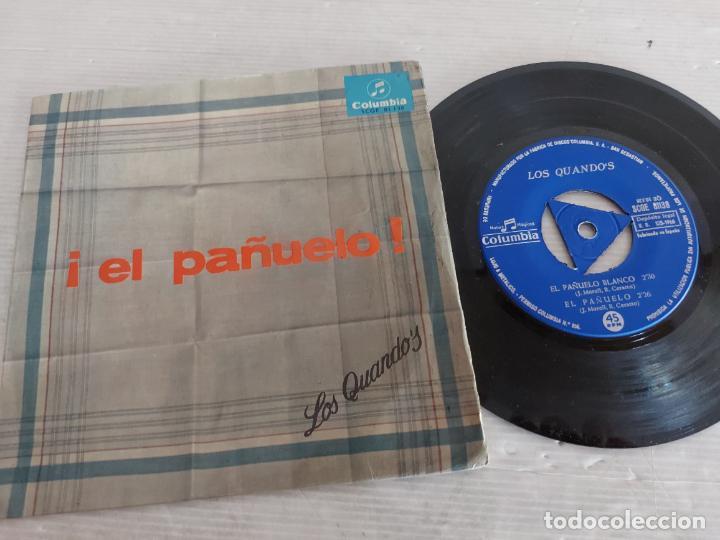 LOS QUANDO'S / EL PAÑUELO / EP - COLUMBIA-1966 / MBC. ***/*** (Música - Discos de Vinilo - EPs - Grupos Españoles 50 y 60)