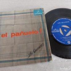 Discos de vinilo: LOS QUANDO'S / EL PAÑUELO / EP - COLUMBIA-1966 / MBC. ***/***. Lote 274543638