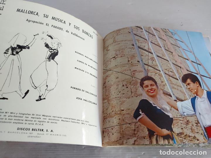 Discos de vinilo: MALLORCA / SU MÚSICA Y SUS DANZAS / EP-GATEFOLD - BELTER-1960 / MBC. ***/*** LETRAS - Foto 2 - 274549158