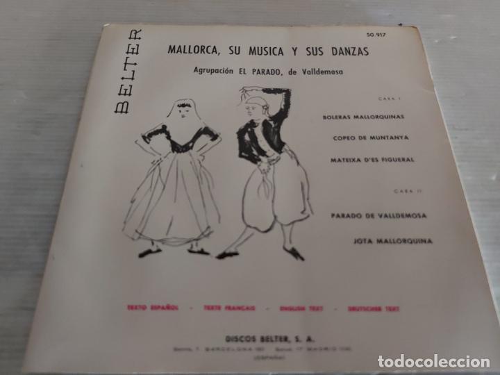 Discos de vinilo: MALLORCA / SU MÚSICA Y SUS DANZAS / EP-GATEFOLD - BELTER-1960 / MBC. ***/*** LETRAS - Foto 4 - 274549158