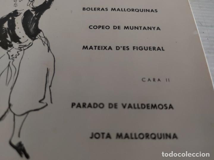 Discos de vinilo: MALLORCA / SU MÚSICA Y SUS DANZAS / EP-GATEFOLD - BELTER-1960 / MBC. ***/*** LETRAS - Foto 5 - 274549158