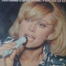 Disques de vinyle: RAFFAELLA CARRA LP SELLO CBS EDITADO EN ESPAÑA AÑO 1976... Lote 274549508