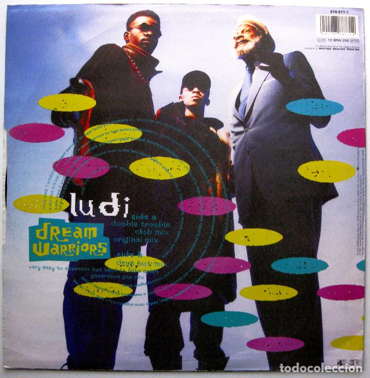 Discos de vinilo: Dream Warriors - Ludi - Maxi 4th & Broadway 1991 UK BPY - Foto 2 - 274555738