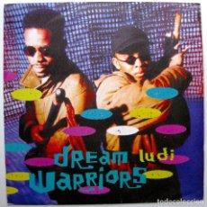 Discos de vinilo: DREAM WARRIORS - LUDI - MAXI 4TH & BROADWAY 1991 UK BPY. Lote 274555738