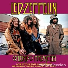 Discos de vinil: LED ZEPPELIN – ORLANDO MADNESS LIVE AT THE CIVIC AUDITORIUM ORLANDO FLORIDA AUGUST 31 1971 -LP-. Lote 274560393