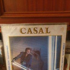 Discos de vinilo: CASAL / POKER.... / HARVEST 1983PORTADA CON USO VER FOTO , DISCO PERFECTO. Lote 274571768