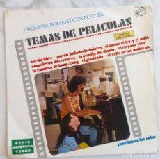 Disques de vinyle: FRANK ZAPPA EN PORTADA, REBELIÓN EN LAS AULAS, ORQUESTA ROMÁNTICOS DE CUBA PELÍCULAS. LP ESPAÑA 1970. Lote 274575383