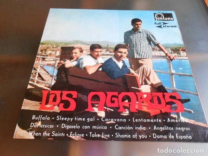 AGAROS, LOS, LP, BUFFALO + 13, AÑO 1964 (Música - Discos - LP Vinilo - Solistas Españoles de los 50 y 60)