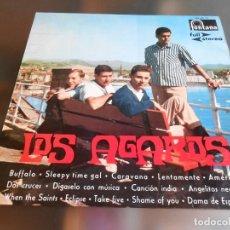 Discos de vinilo: AGAROS, LOS, LP, BUFFALO + 13, AÑO 1964. Lote 274594683