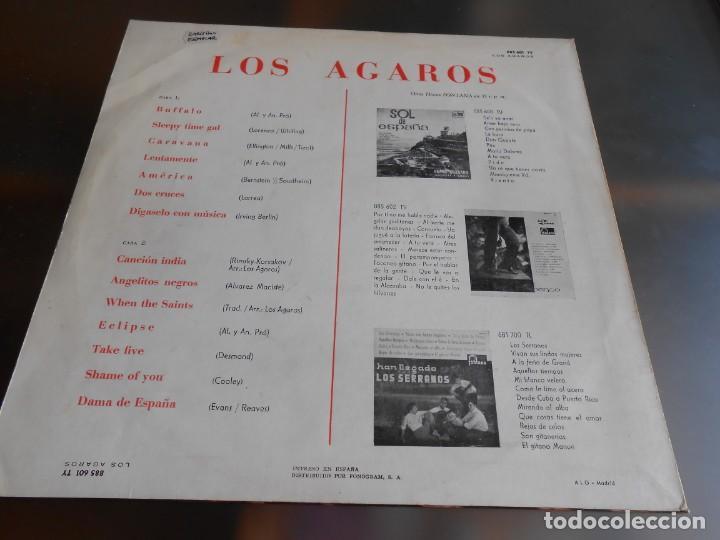 Discos de vinilo: AGAROS, LOS, LP, BUFFALO + 13, AÑO 1964 - Foto 2 - 274594683
