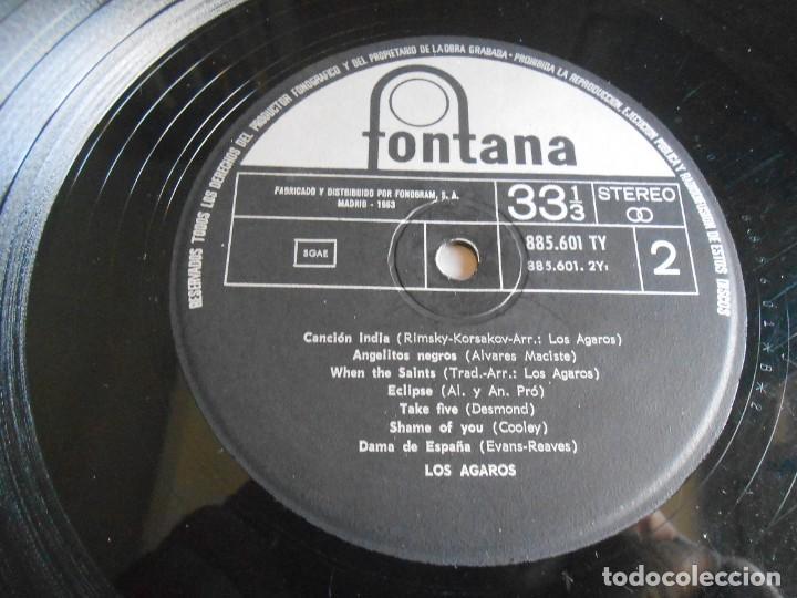 Discos de vinilo: AGAROS, LOS, LP, BUFFALO + 13, AÑO 1964 - Foto 4 - 274594683
