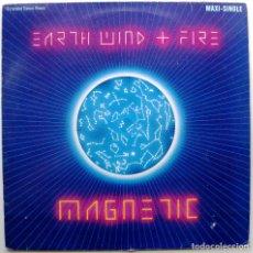 Discos de vinilo: EARTH, WIND & FIRE - MAGNETIC (EXTENDED DANCE REMIX) - MAXI CBS 1983 BPY. Lote 274597298