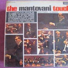 Discos de vinil: LP - MANTOVANI - THE MANTOVANI TOUCH (SPAIN, DECCA RECORDS 1968). Lote 274602033
