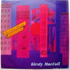 Discos de vinilo: KIRSTY MACCOLL - WALKING DOWN MADISON - MAXI VIRGIN 1991 UK BPY. Lote 274611623