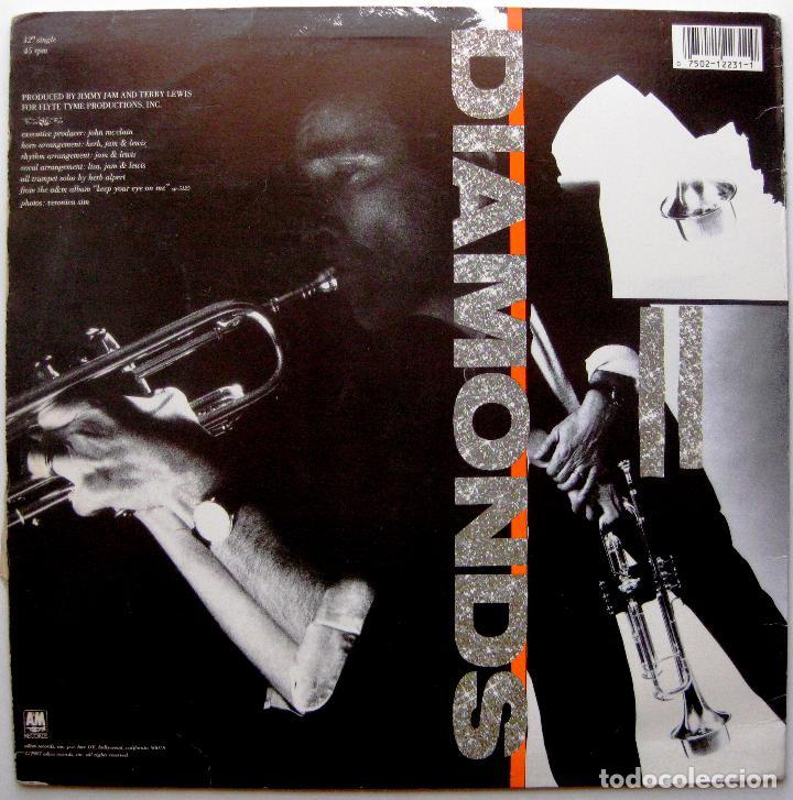 Discos de vinilo: Herb Alpert - Diamonds - Maxi A&M Records 1987 USA BPY - Foto 2 - 274614938
