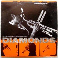 Discos de vinilo: HERB ALPERT - DIAMONDS - MAXI A&M RECORDS 1987 USA BPY. Lote 274614938