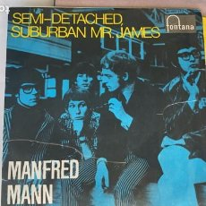 Discos de vinilo: DISCO EP DE VINILO MANFRED MANN / SEMI-DETACHED SUBURBAN FONTANA AÑO 1966. Lote 274615438