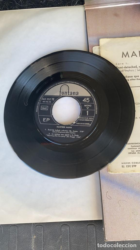 Discos de vinilo: DISCO EP DE VINILO MANFRED MANN / SEMI-DETACHED SUBURBAN FONTANA AÑO 1966 - Foto 2 - 274615438