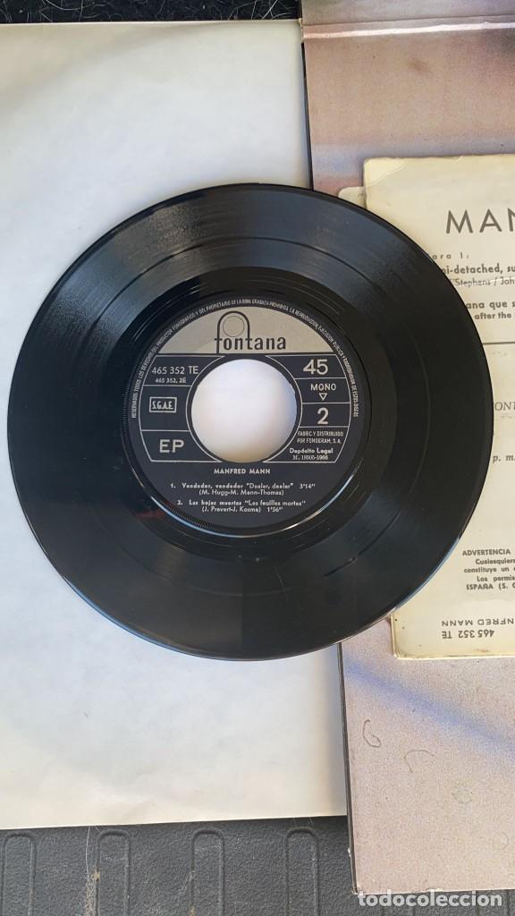 Discos de vinilo: DISCO EP DE VINILO MANFRED MANN / SEMI-DETACHED SUBURBAN FONTANA AÑO 1966 - Foto 3 - 274615438