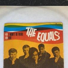 Discos de vinilo: DISCO THE EQUALS I WON´T BE THERE SINGLE DISCOS TEMPO. Lote 274615903