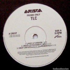 Discos de vinilo: TLC - CREEP - MAXI LAFACE RECORDS 1994 PROMO UK BPY. Lote 274616683