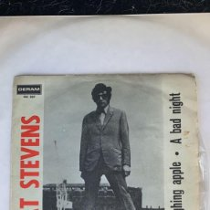 Discos de vinilo: DISCO EP CAT STEVENS A BAD NIGHT RARISIMO EP PORTUGUES. Lote 274616863