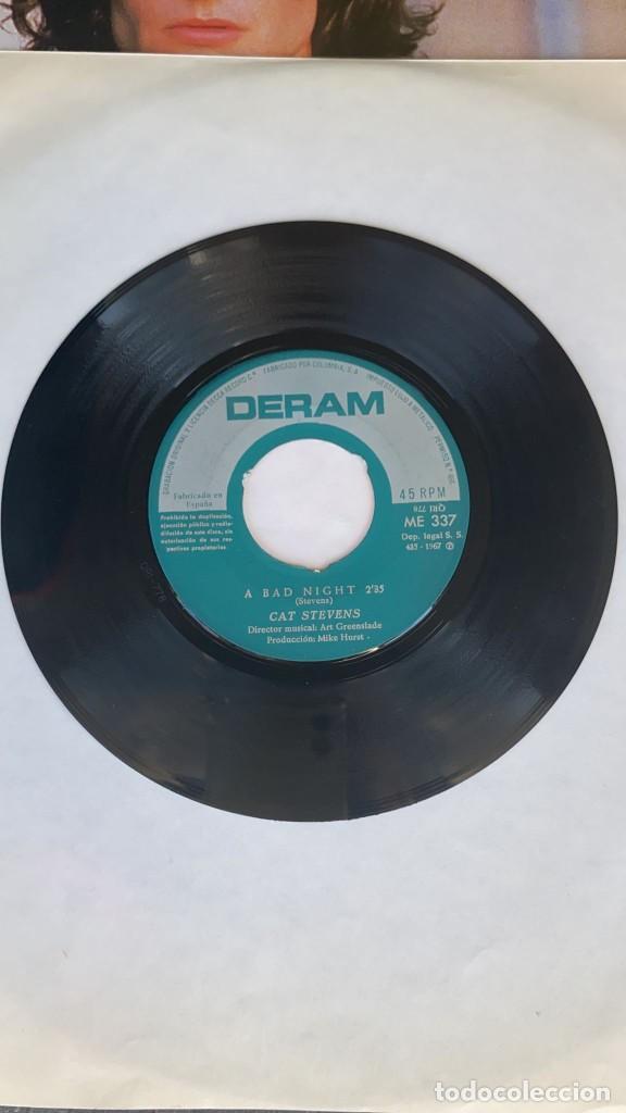 Discos de vinilo: DISCO EP CAT STEVENS A BAD NIGHT RARISIMO EP PORTUGUES - Foto 2 - 274616863